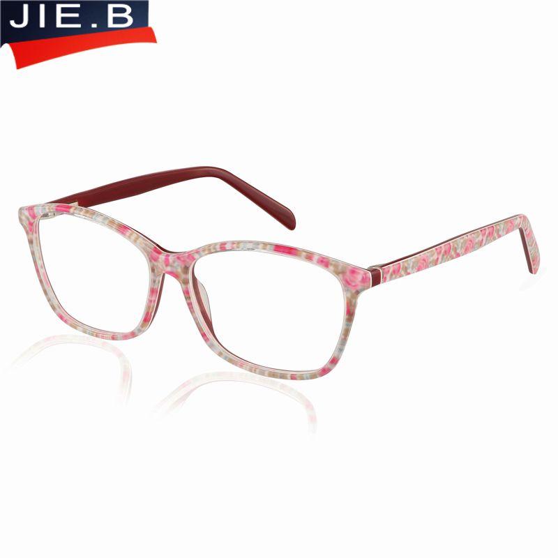 86b031d32f75 2019 2017 New Women s Glasses Frame Female Eyeglasses Frame Decoration Optical  Glasses Prescription Eyewear In Acetate Material From Fashionkiss