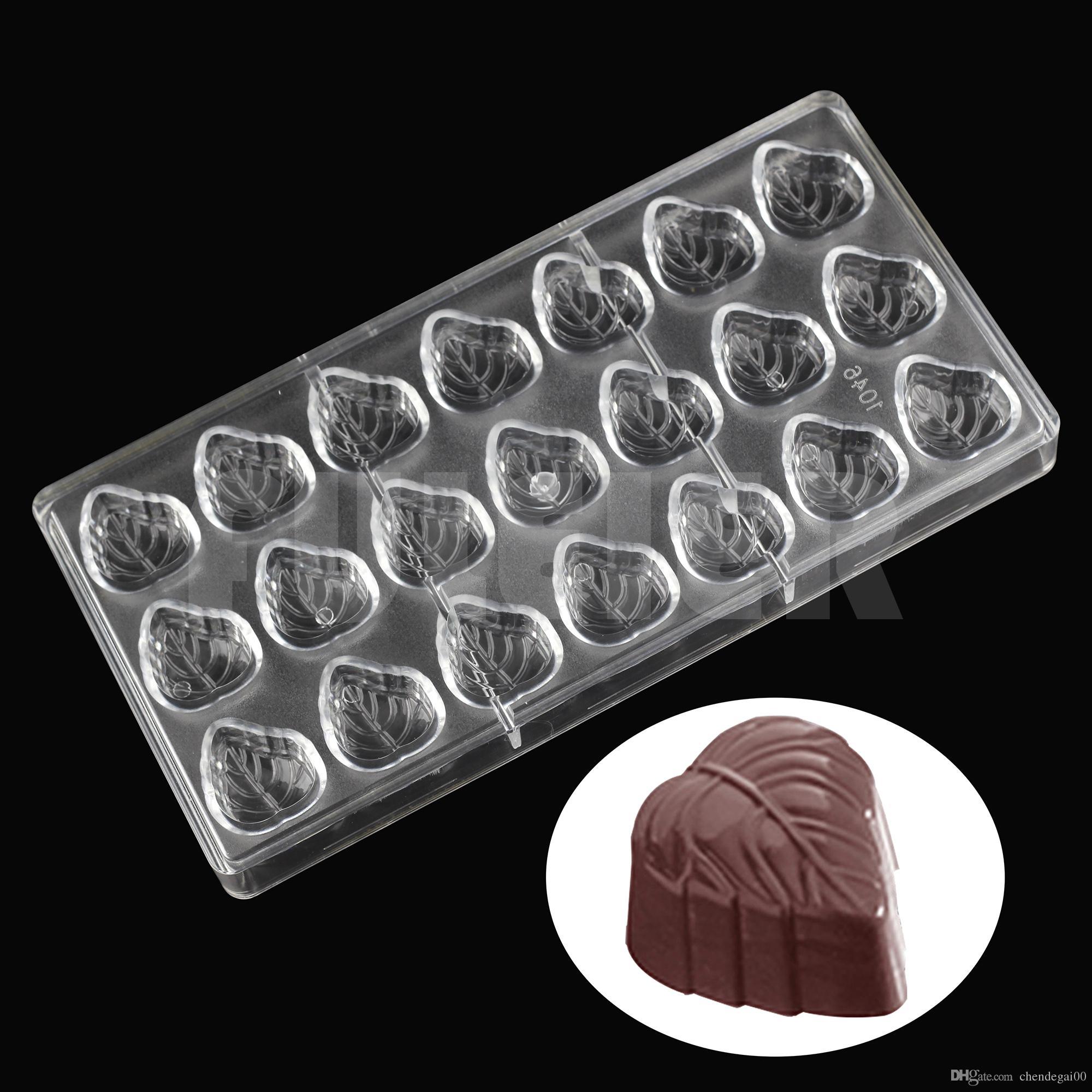 Grosshandel Diy Blattform Polycarbonat Schokoladenform Sussigkeiten