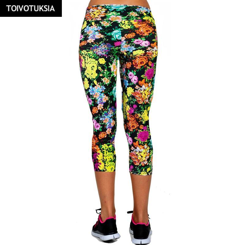 ded352b1ae6ef 2019 TOIVOTUKSIA Summer Fitness Sport Leggings Pantalones Mujer Pants Ropa  Deportiva Calzas Deportivas Mujer Fitness For Women Pants From Johiny