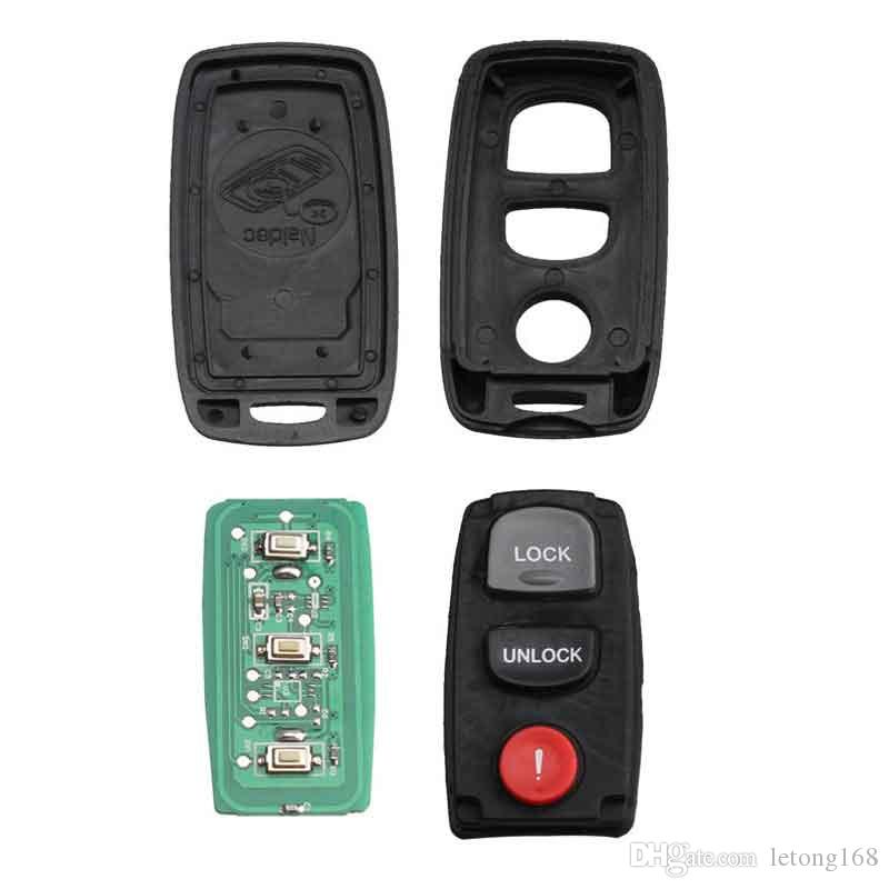 2Buttons for Mazda 3 6 Car Remote Replacement Keyless Entry Remote Car Key  Fob Control