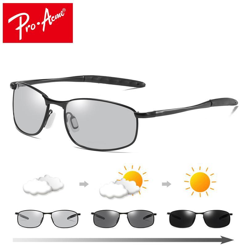 e8e924dff71 Pro Acme Intelligent Photochromic Polarized Sunglasses Men Driving Sports Chameleon  Discoloration Sun Glasses For Men PA1082 D18102305 Dragon Sunglasses ...