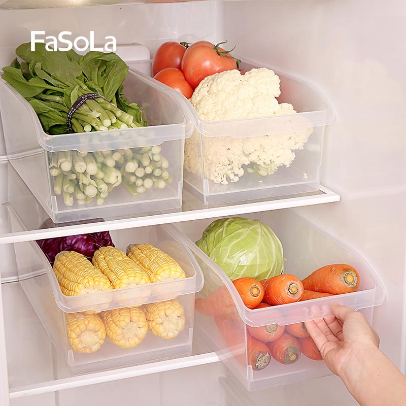 2018 Fasola Kitchen Food Storage Box Refrigerator Food Finishing Box