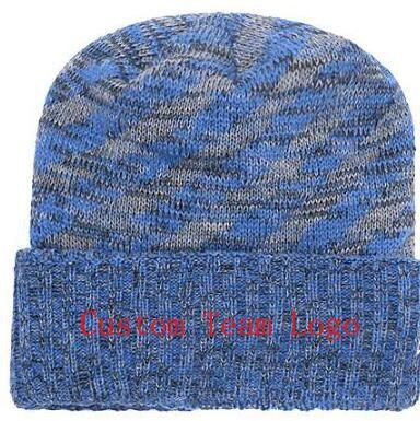 2019 Autumn Winter Hat Men Women Sports Hats Custom Knitted Cap ... 3eebc2bcd