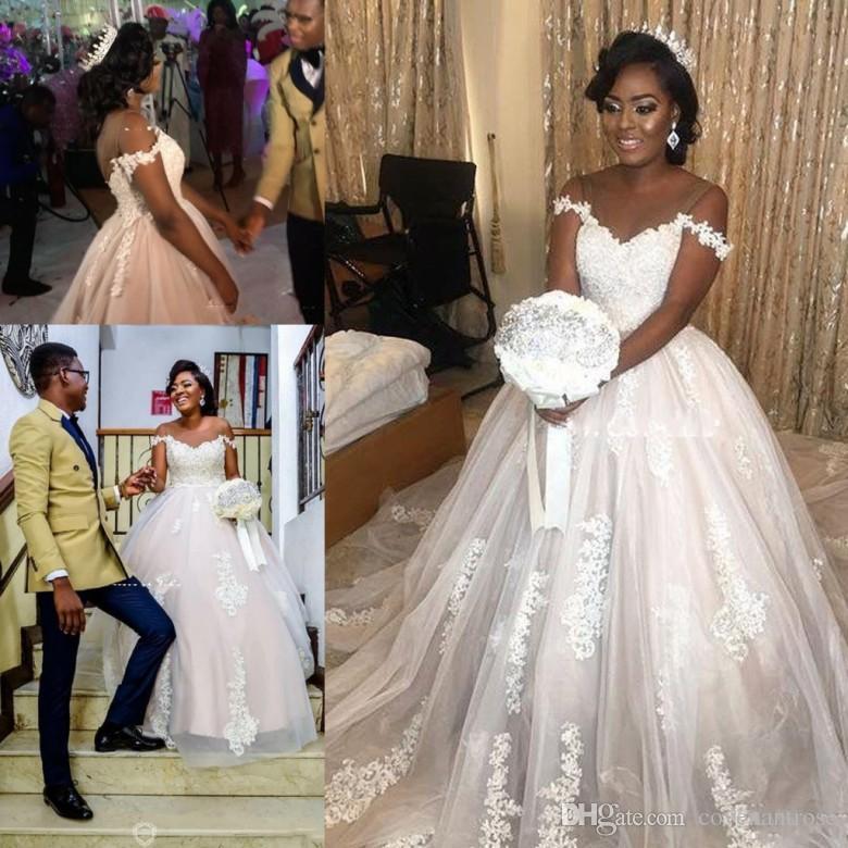 Bal Acheter Africain 2018 Mariee Arabe De Princesse Robe