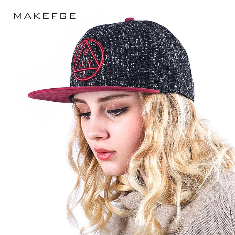 Quality Snapback Cap NY Round Triangle Embroidery Brand Flat Brim Baseball  Cap Youth Hip Hop Cap And Hat For Boys And Girls Richardson Hats Headwear  From ... ec86970645a