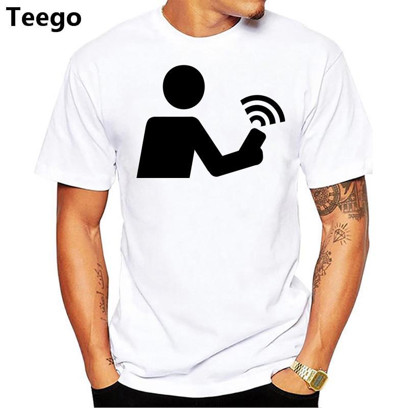 29a5942016998f Großhandel Geocaching Logo T Shirt Gedruckt Männer T Shirt Kurzarm Lustige T  Shirts Von Goodyuns