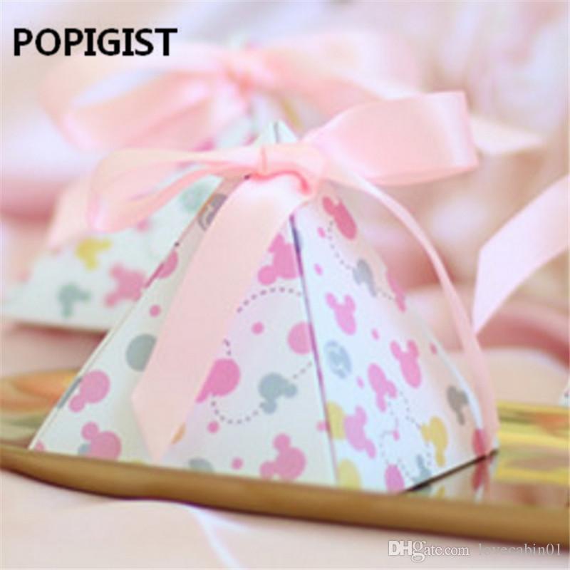 Creative Cartoon Animal Polka Dot Baby Shower Candy Box Child Baby