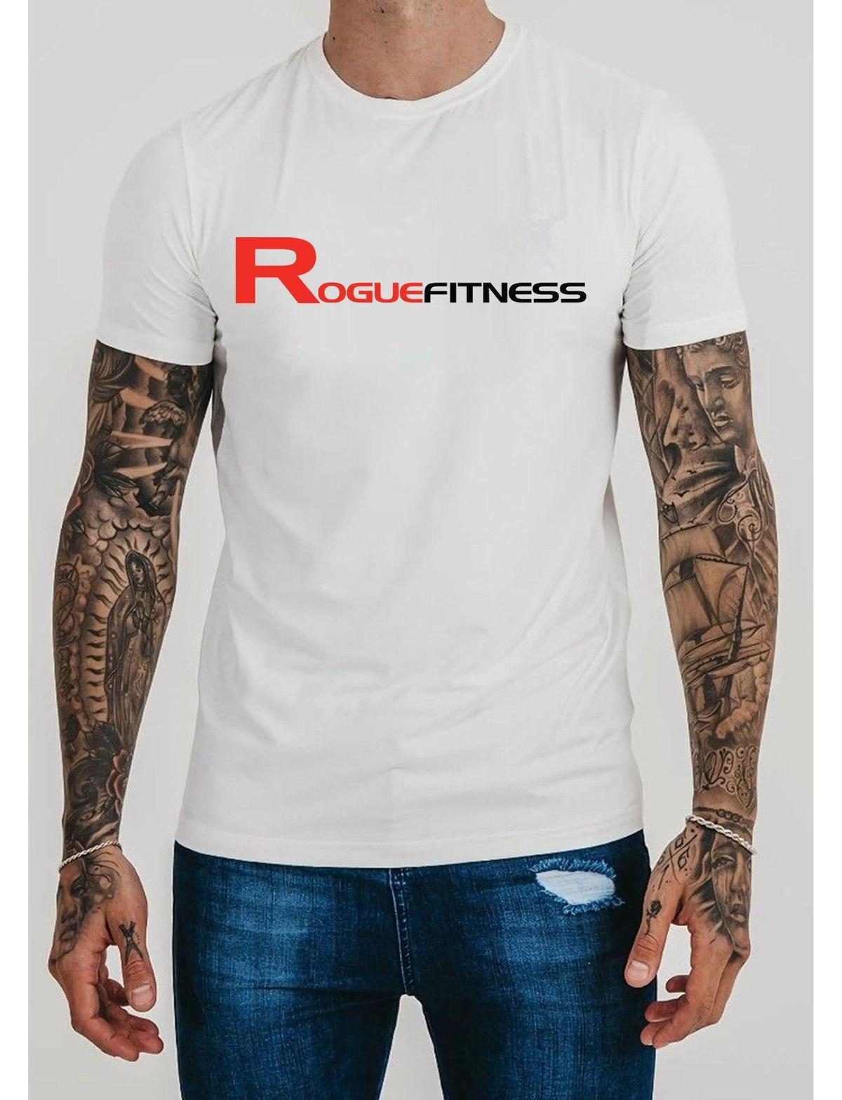 Vintage Rogue Fitness Tee International Men S SS Cross Short Slave T Shirt  S 2XL HOT SELL 2018 New Fashion Brand Men Tees Solid On T Shirt Tourist  Shirts ... 38f31014f340