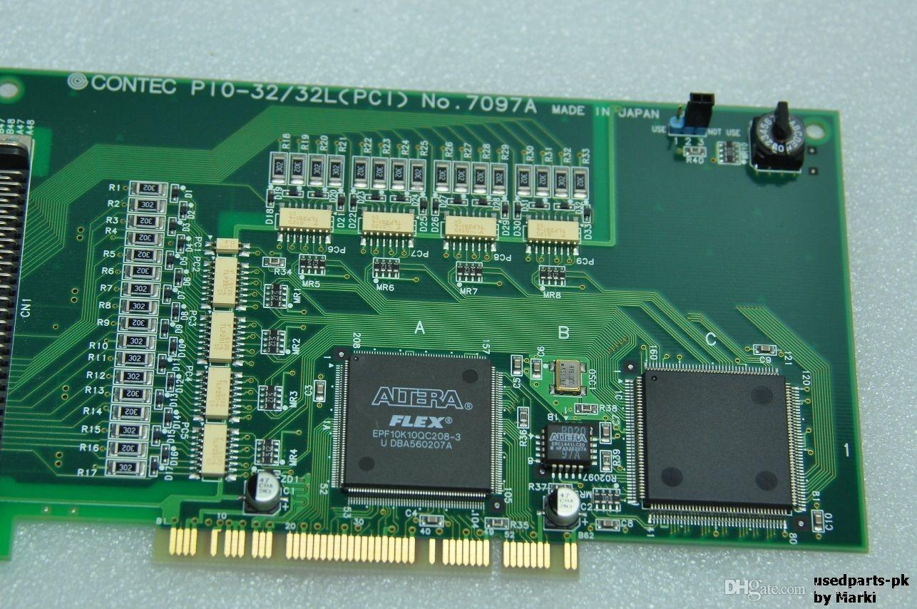 Плата промышленного оборудования CONTEC PIO-32 / 32L PCI Изолированная плата цифрового ввода-вывода 7097A