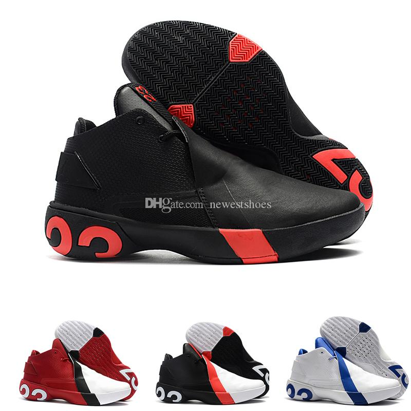 fec76d0469e2 2019 Ultra Fly 3 Basketball Shoes BLACK INFRARED Designer Sports Running  Shoes For Men GYM RED WHITE BLACK Casual Trainers Sneakers 40 46 Basketball  Shoes ...