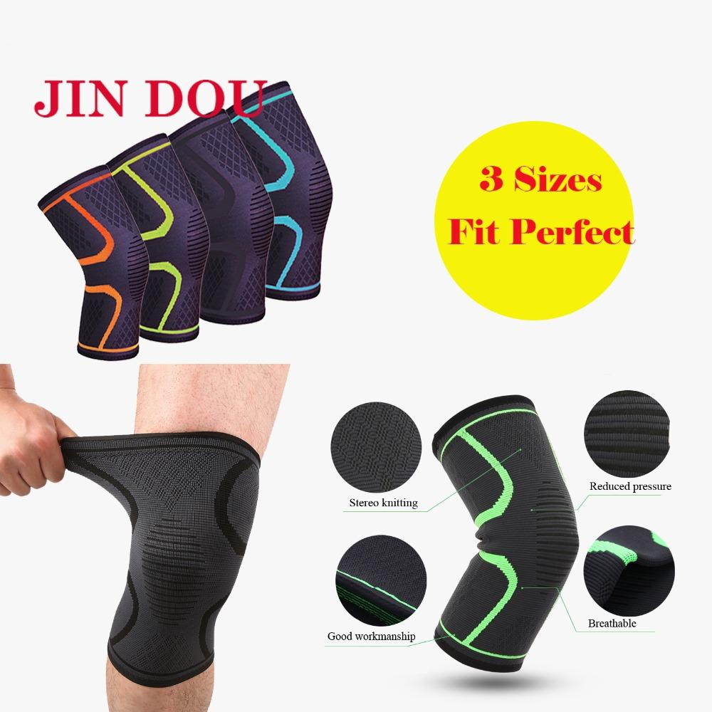 99b052019e 2019 Knee Compression Sleeve Knee Support Brace For Weightlifting  Basketball Meniscus Tear Arthritis Joint Pain Relief Men Women From  Pearguo, ...