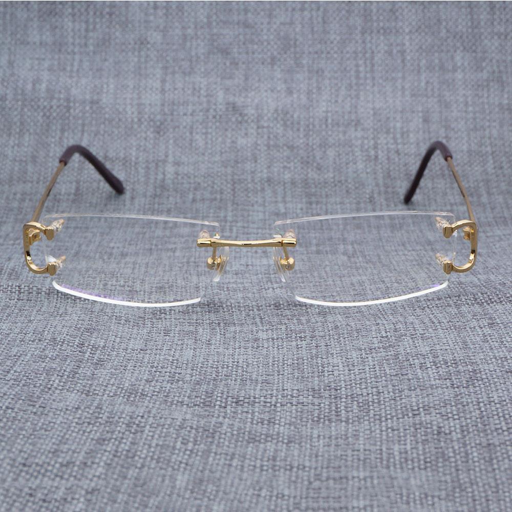 90df40b12f Compre Gafas Claras De Los Hombres Marco De Los Vidrios De Los Vidrios De  Lujo Anteojos Sombras Moda Gafas Oculos Gafas Para Conducir Pesca 827 A  $51.49 Del ...
