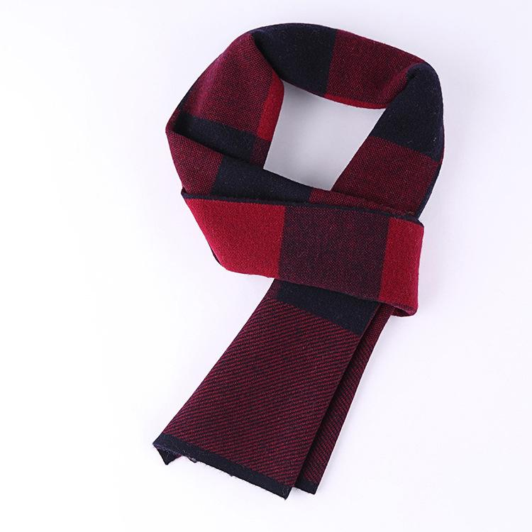 Top Quality Men's Scarf Comfortable Woolen Scarves Male Business Leisure Warm Scarf Manufacturer Wholesale Drop Shopping B-9622