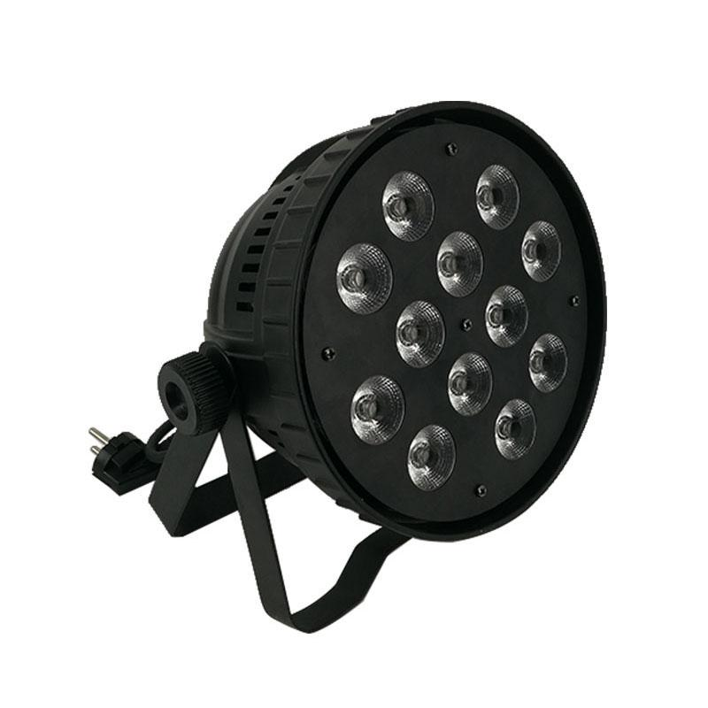 Fast Shipping 12x12w RGBW LED Par Can 12x12W Light Wash Light For Event,Disco Party Nightclub,SHEHDS Stage Lighting