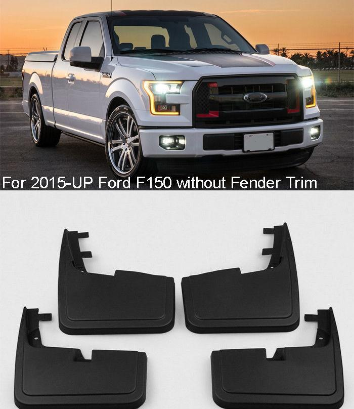 Car Styling Splash Guards Mud Guards Mudguards Flaps Fender Fit For   Ford F  From Xiumeifu   Dhgate Com