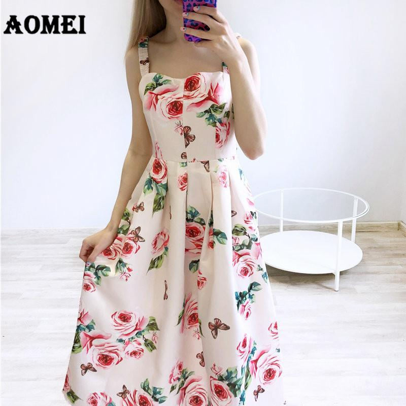 3a0300ad18 New White Print Floral Tube Top Dress for Women Summer Strap Hight ...