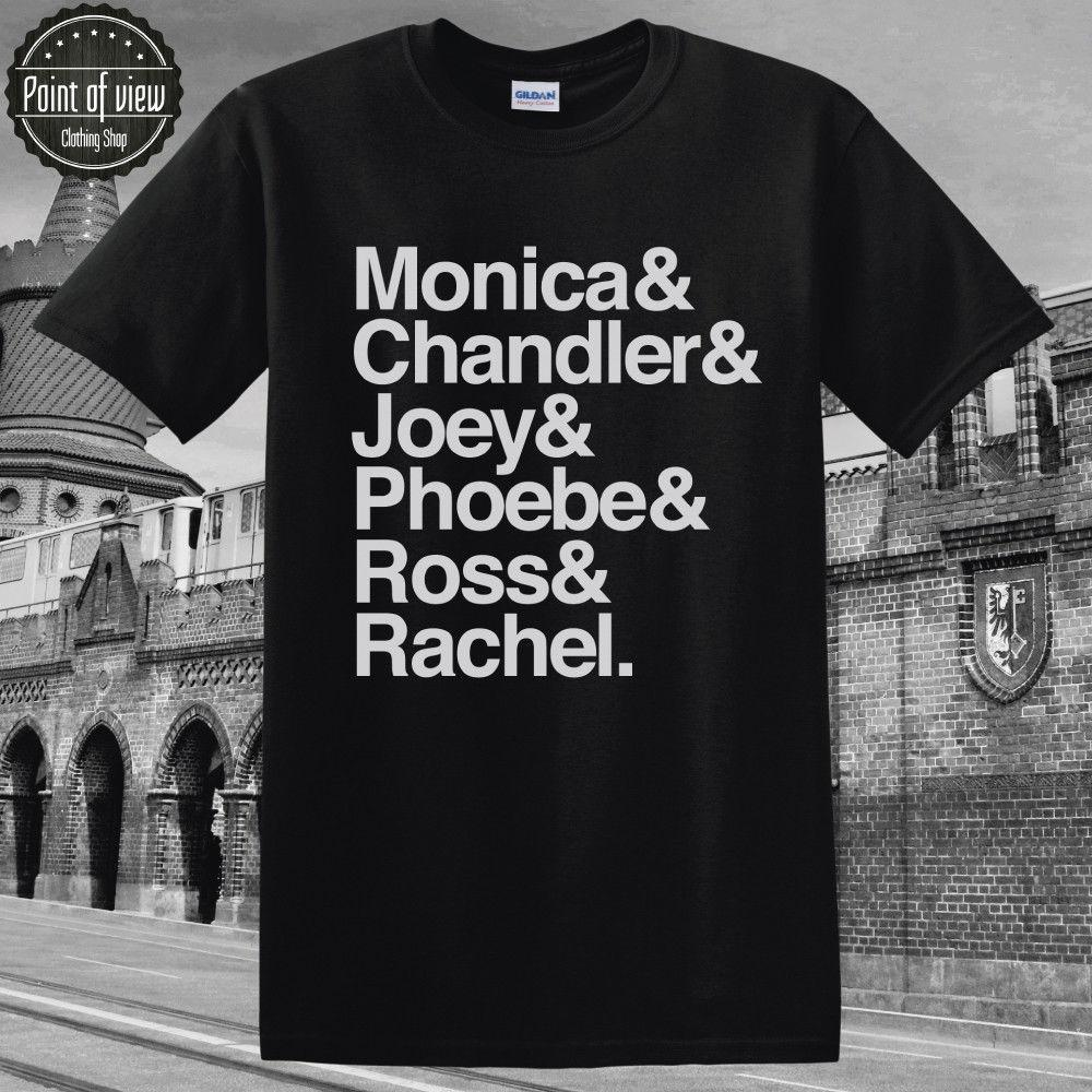 e9612f2aad4 Friends Tshirt Monica Ross Chandler Funny T Shirt TV SHOW Shirt Friends  Quotes Funny Unisex Casual 24 Hour Tee Shirts T Shirts T Shirts From  Tshirthutzone