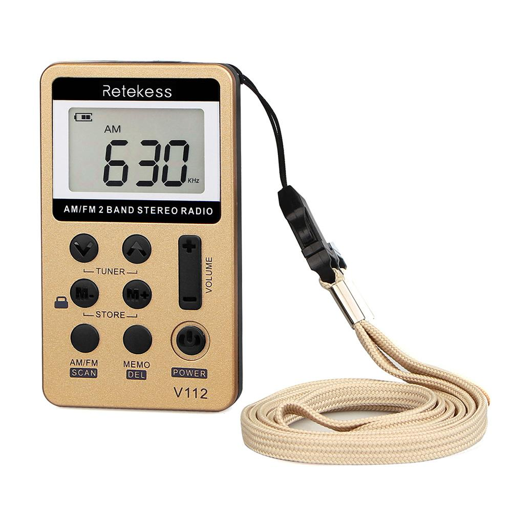 Tragbares Audio & Video Am Fm Stereo Digital Radio 2 Band Stereo Tuning Radio Tasche Radio Icd Bildschirm Können Shop 58 Radio Stationen