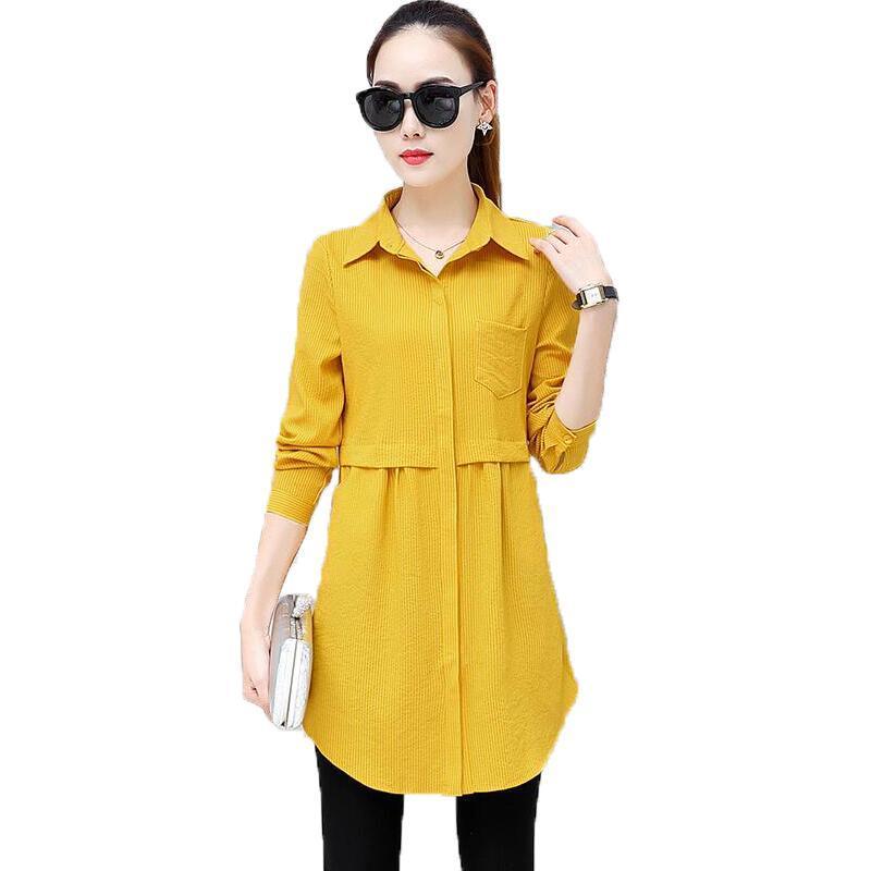 c9e60a41e70 2018 New Autumn Work Shirt Women Plus Size Blouse Long Sleeve Blouses  Shirts Blusas Femininas Business Wear Casual Women Tops Work Shirts Women  Work Shirt ...