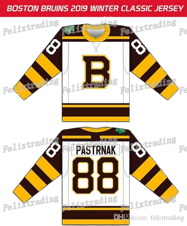 separation shoes 77804 ecc25 2019 Winter Classic Custom Boston Bruins 37 Patrice Pastrnak Torey Krug  Brad Marchand David Backes Zdeno Chara Brusk JerseyDe
