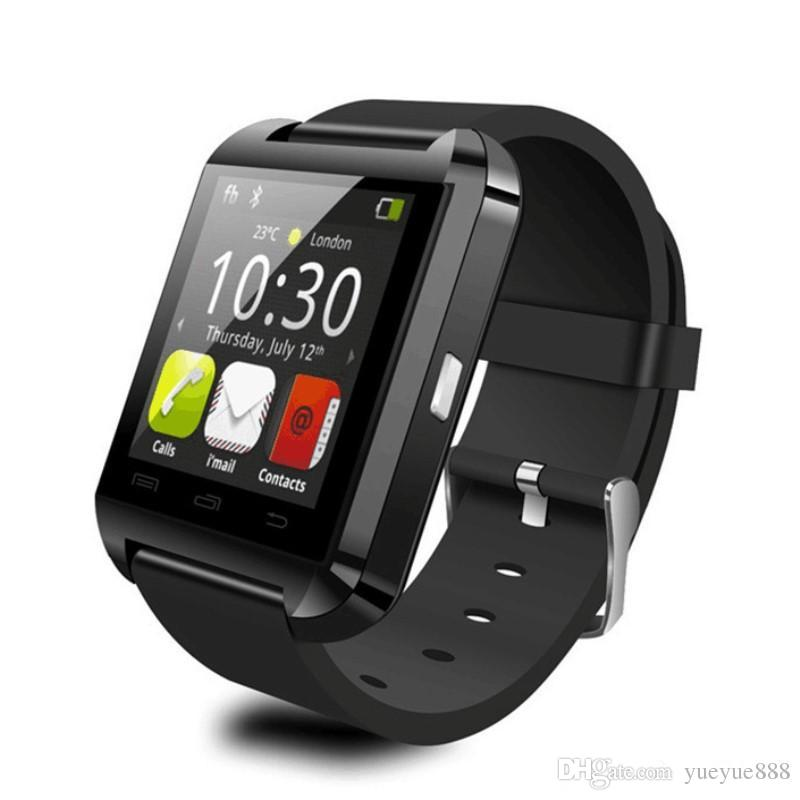 Hot Bluetooth Smart Watch U8 U Watch WristWatch for iPhone 4/4S/5/5S Samsung S4/Note 3 HTC Android Phone Smartphones