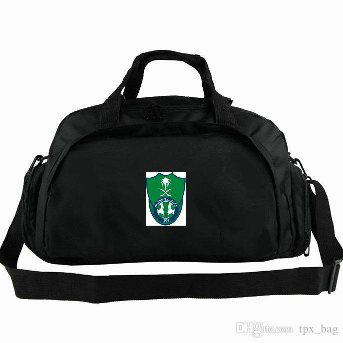 65deb4da2c Al Ahli Duffel Bag UAE AC Tote Dubai Football Club Backpack Soccer Badge  Luggage Sport Shoulder Duffle Outdoor Sling Pack Large Duffel Bags Cheap  Duffle ...