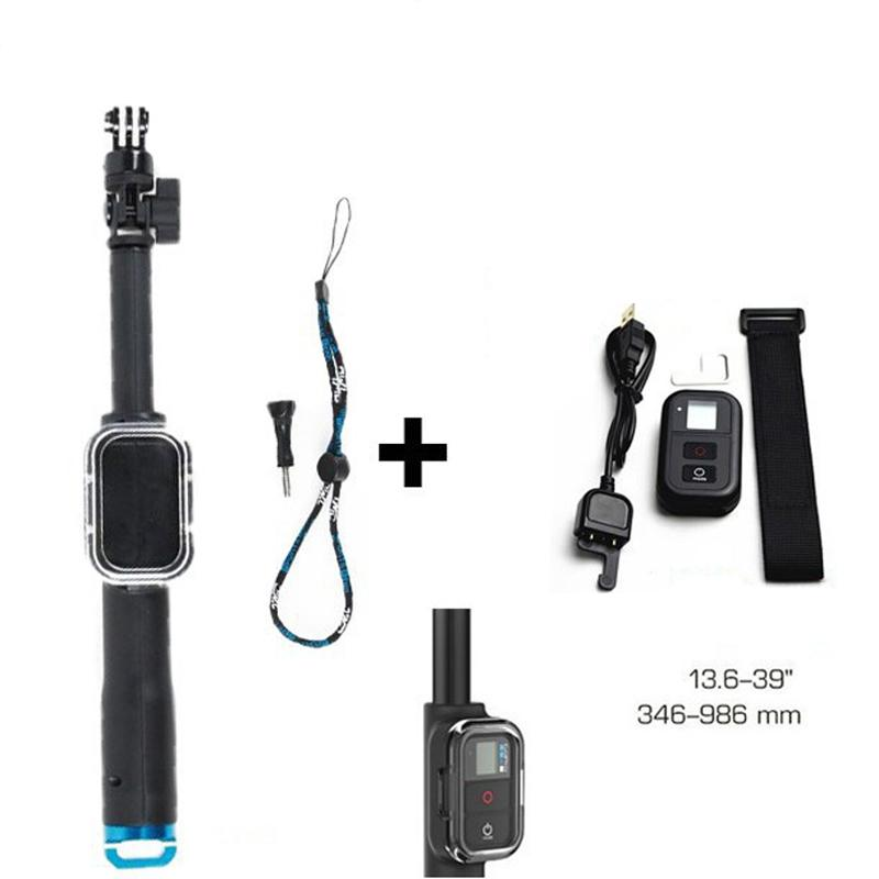 b878f2f32e8043 2019 Accessories Handheld Selfie Stick Monopod Tripod + Wifi Remote  Controller For Go Pro 4 HERO4 HERO3 3+ Camera From Fava, $92.94 | DHgate.Com