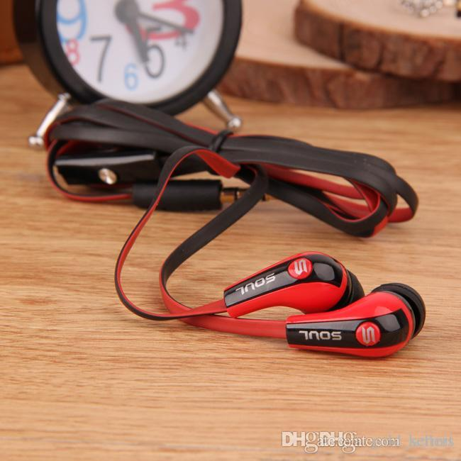 Soul By Ludacris Over Ear In Ear Headphones For iPhone Samsung Android Mobile Phone MP3 iPad iPod Wired Sport Earbuds Earphones Headset