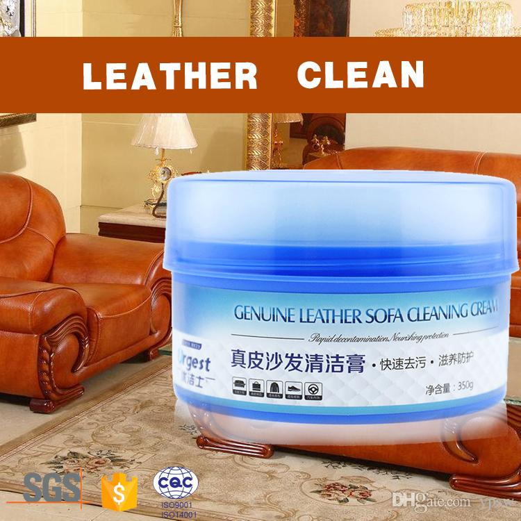 2018 Genuine Leather professional sofa cleaner Sofa Cleaning Agent Leather  Seats Care And Cleansing wax Soft Paste