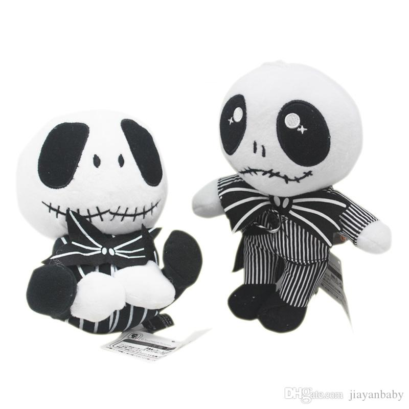 2019 22cm The Nightmare Before Christmas Jack Skellington In Suit Plush Toy  Stuffed Doll Gift For Kids DHL From Jiayanbaby 5d4ee1d4c1