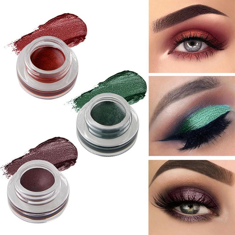 New Makeup Long Lasting Waterproof Pigments Metallic Eyeshadow Glitter Make  Up Color Eye Shadow Liquid Shimmer Stickers Smokey Eyes Eye Makeup From  Yangti d9d78b3fa9b6