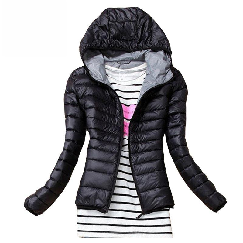3c1aeef83ce New 2018 Fashion Parkas Spring Winter Female Down Jacket Women ...