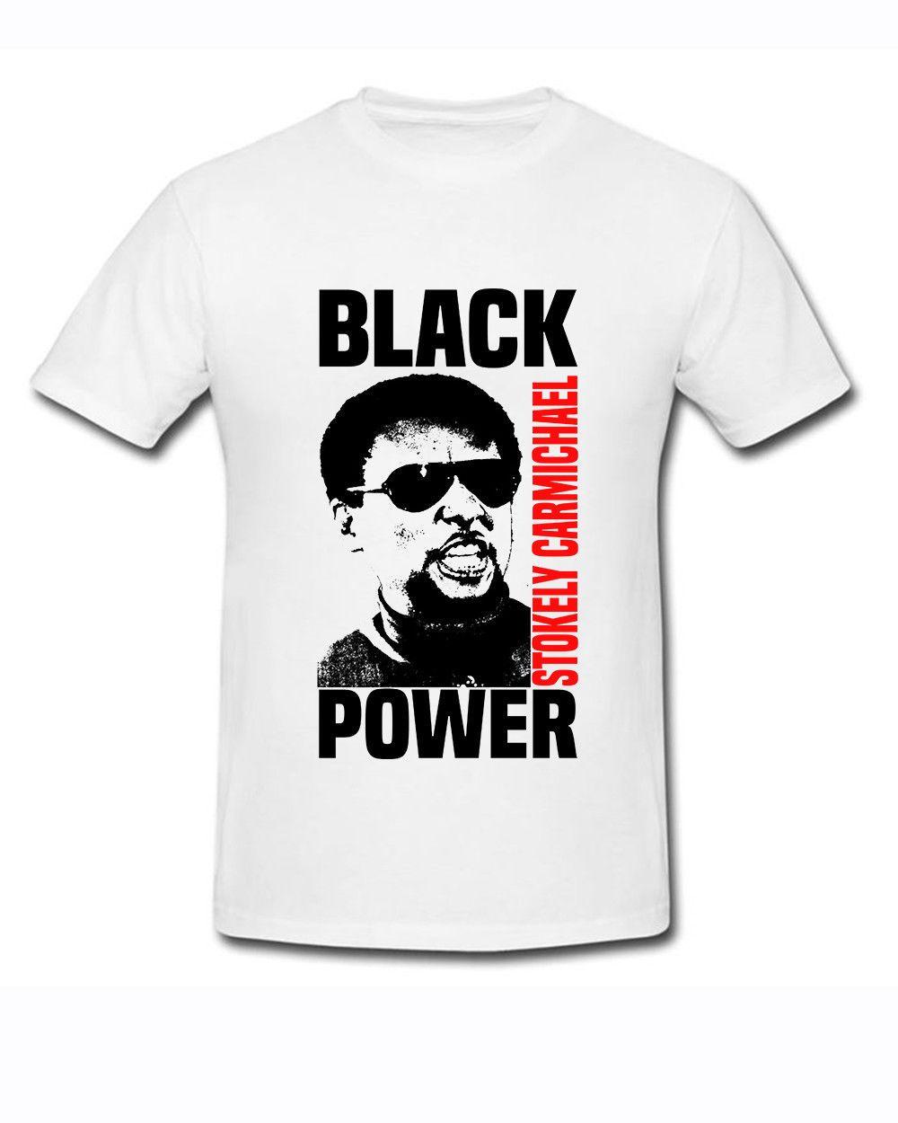 fae51831c Stokely Carmichael-Black Power white Men T-shirt size S-2XL