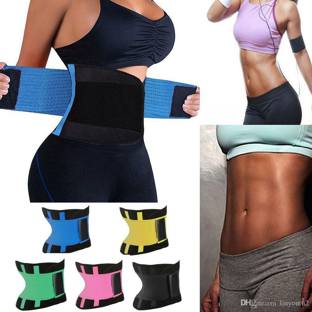 4a13787efa 2019 Waist Trainer Cincher Man Women Xtreme Thermo Power Hot Body Shaper  Girdle Belt Underbust Control Corset Firm Slimming From Linyoutu2