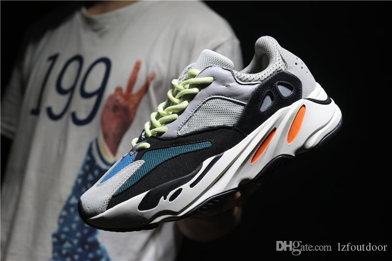 b605aa3b5 Cheap 2018 Top Quality 700 Kanye West Wave Runner 700 Mens Women Athletic  700s Sports Running Sneakers Shoes Size 36-46 for Sale