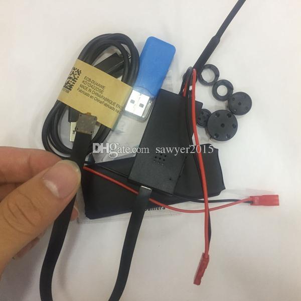 Wireless WIFI Mini Camera Module Board Camcorder DIY Module IP P2P CCTV Camera HD 720P H.264 buttons Mini DV DVR PC webcam