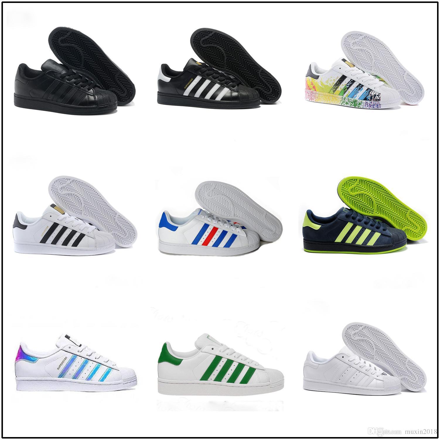 Mens Smith Plates Adidas Pour Femmes Hot Sell Stan Original Chaussures De Superstar Sport 2018 Mode c5j3Aq4RL