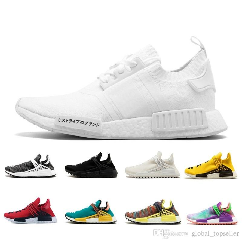 the latest 03ec8 8a1b1 Scarpe Running Brooks Nmd Novità 2018 Human Race Pharrell Williams Hu Trail  NERD Scarpe Sportive Da Donna Uomo Economici Di Alta Qualità Scarpe  Sportive Blu ...