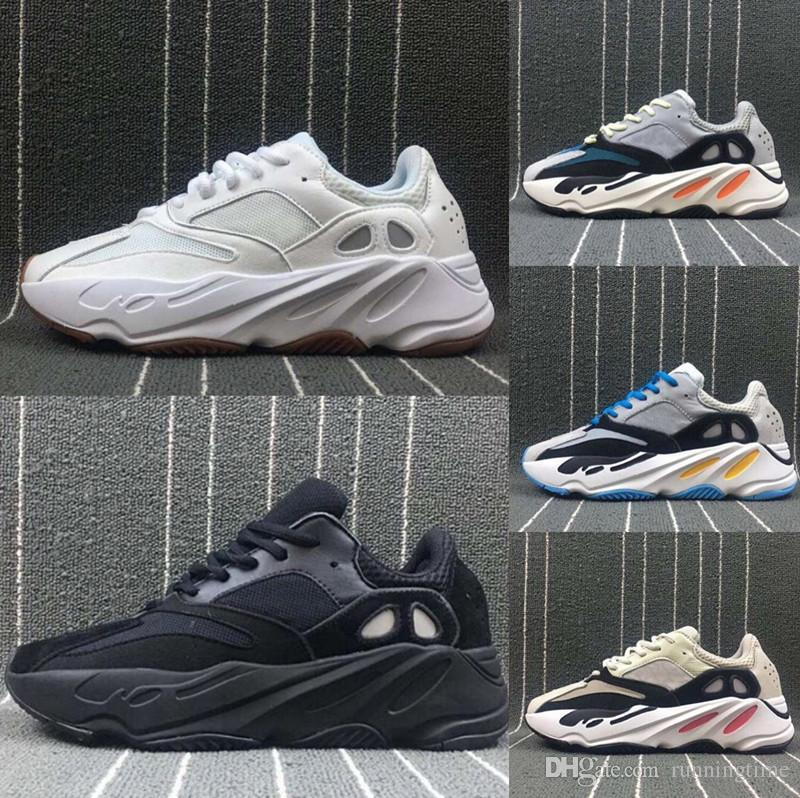 (With Original Box)2018 Kanye West Boost Wave Runner 700 Calabasas Basketball Shoes Women Men Running Shoes Sneaker Footwear the cheapest cheap price 1dJFwXMmQ