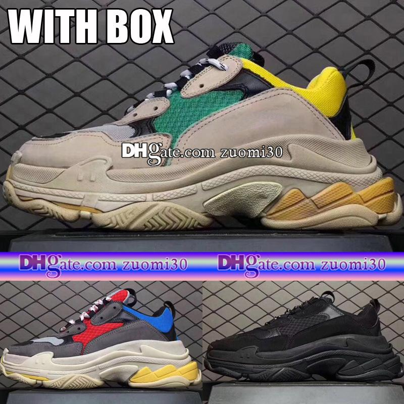 ccb8deb42ff9 ... Special For Shoe New Original Quality Fashion 17FW Triple S Sneakers Men  Women Retro Running Shoes  shop Balenciaga ...