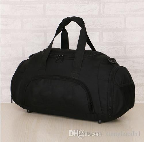 2018 Formal Male And Female Gym Bags Big Black Orange Brand N Travel Bags  New Polyester Sport Outdoor Bag Duffel Bags Leather Bags Laptop Bags For  Women ... f89c8730a2