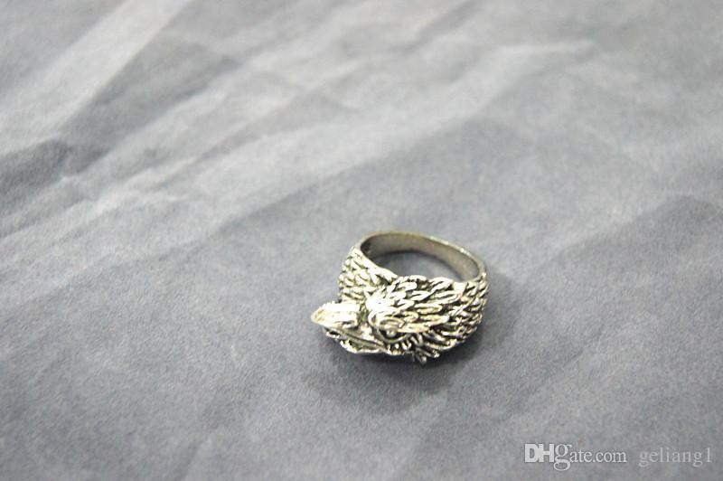 빈티지 청동 독수리 pengcheng wan 반지. 반지는 남자의 첫번째 선택이다.