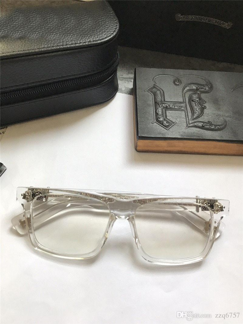 4ba75fce17e2 New Popular Retro Men Optical Glasses Punk Style Designer Retro ...