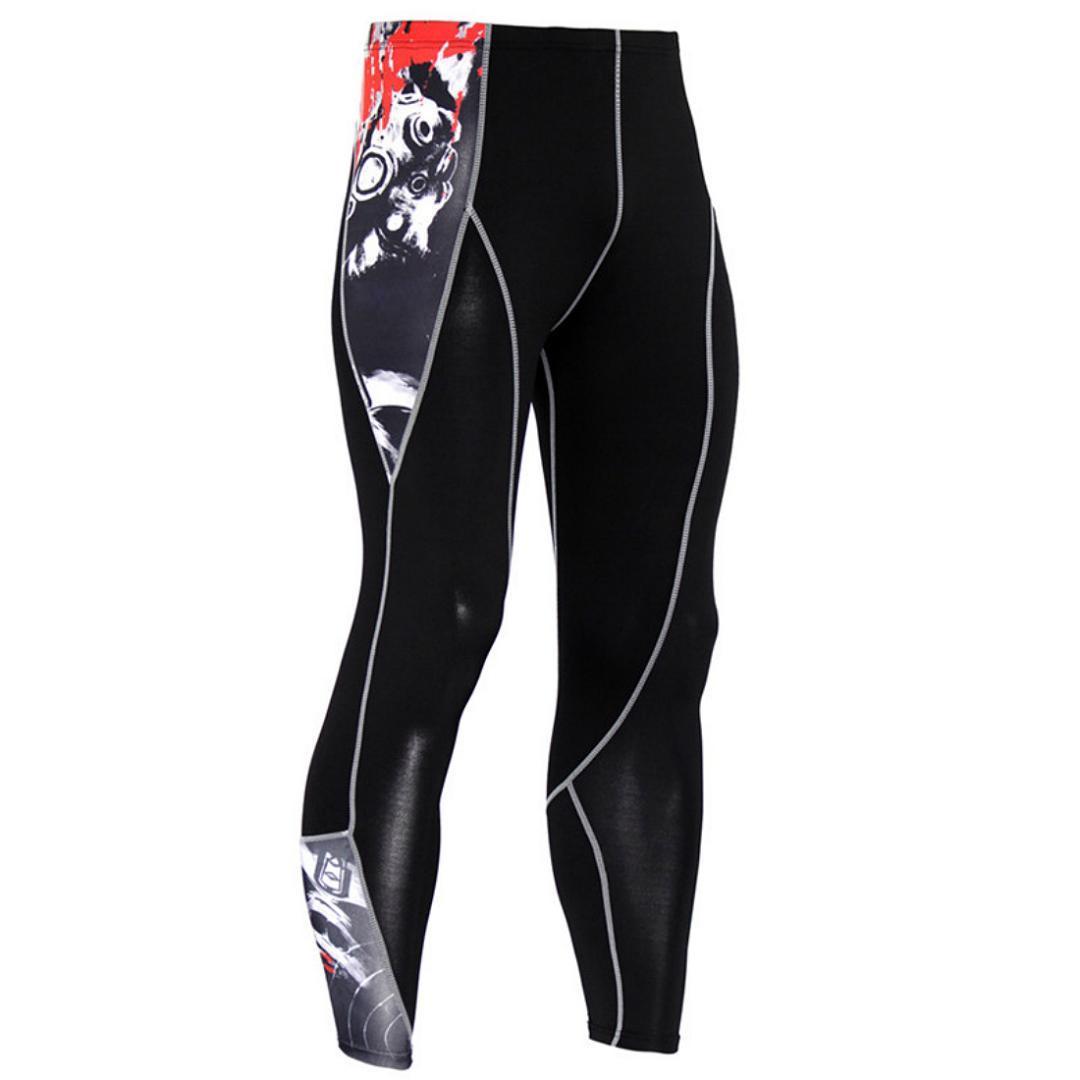 Compre 2018 Hombres Baratos Pantalones De Compresión Mallas Para Correr  Hombre Entrenamiento Fitness Deporte Leggings Hombre Gimnasio Jogging  Pantalones ... ea87f26a5000c