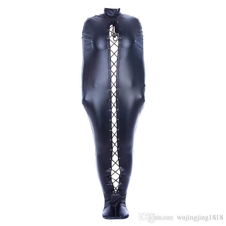 BDSM Bondage Mummy Bag Body Arm Bondage Restraints With Open Head Sexy Mermaid BDSM Sex Toys For Woman Sex Shop