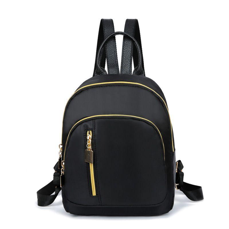f83258eac51 Compre Bolsas Para Mujeres 2018 Mini Mochilas Para Niñas Mochilas Escolares Mochilas  De Viaje De Moda Casual Mochilas Negras Femeninas A  16.93 Del ...