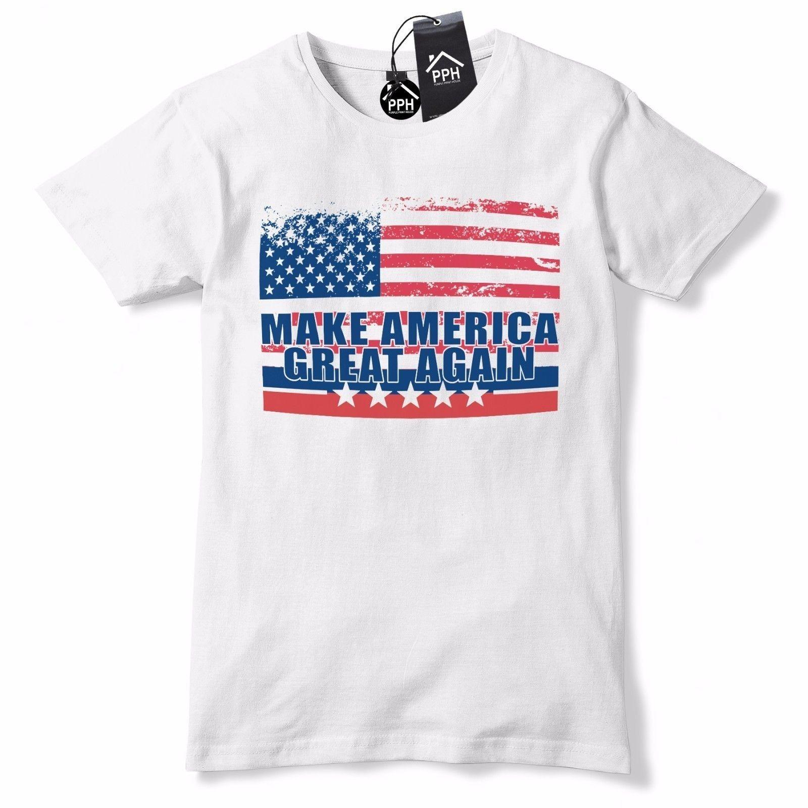 6932852fa49 US Vintage Flag Make America Great Again T Shirt Trump Tee Baseball Cap USA  472 Funny Unisex Casual Tee Gift T Shirt 24 Hours Buy Cool Shirts Online  From ...