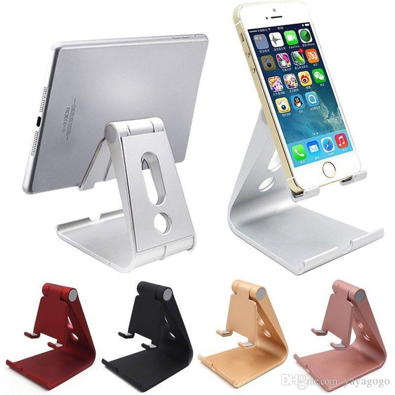 f3bfae0a03842d 2019 Universal Phone Holder Desktop Cell Phone Dock Non Slip Mobile Phones  Stand Desk Holder For IPhone Holder Pad For Samsung Tablet Stand Holde From  ...