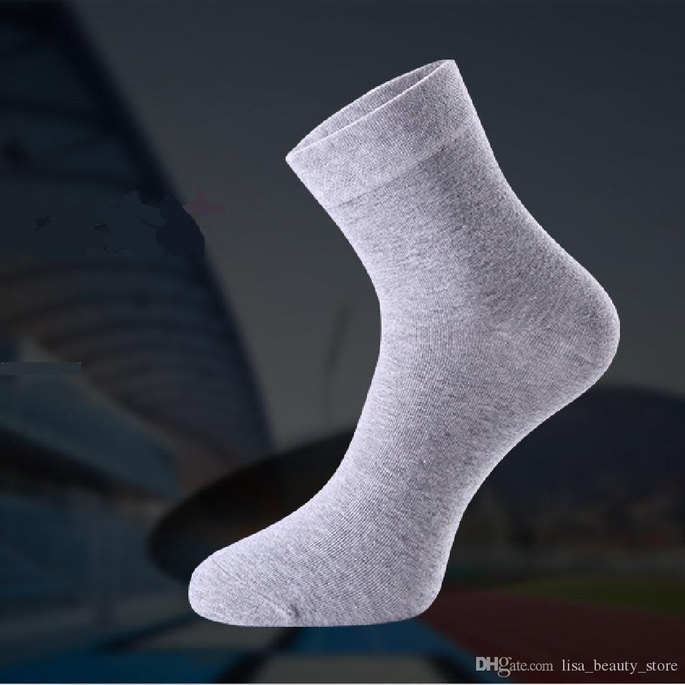 es solide couleur femmes dames filles moyen tube coton chaussettes solide mode décontractée conception simple chaud