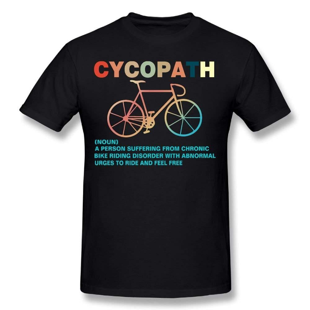 ee1e1ae4 Men'S Cycopath Shirt Funny Vintage Retro Definition Gift 100% Cotton Prints  Casual Short Sleeve Tee Round Neck Clothes 10 T Shirts Cool Shirts Designs  From ...